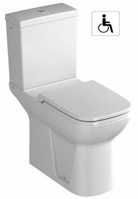 Toilettes accessibles aux personnes à mobilité réduite