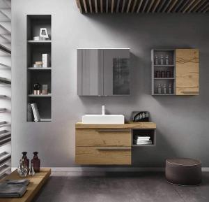 tendance nature carrelage mur meuble de salle de bain Matrix