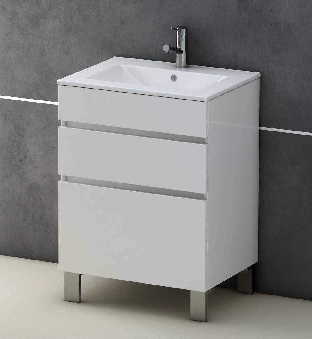 tendance-vintage-meuble-salle-de-bain-colori-blanc-vasque-ceramique ...