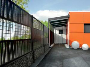 cloture pour jardin design