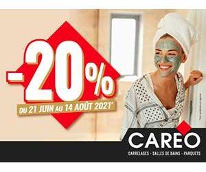 -20% du 21 Juin au 14 Août